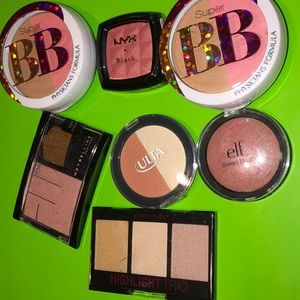 Lot of 7 Blush & Highlighters
